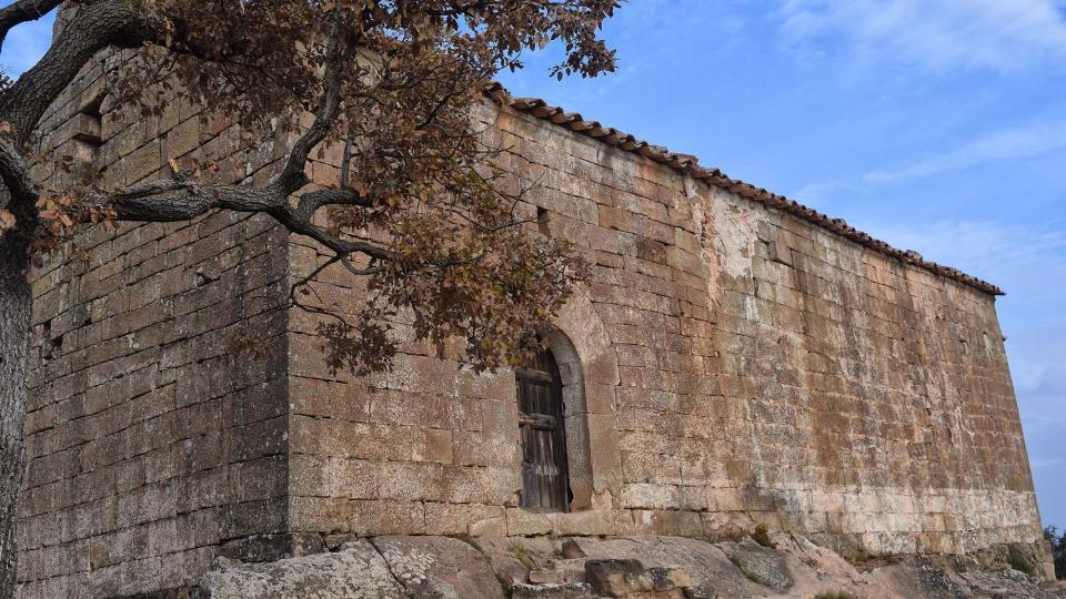 Ermita de  Sant Salvador del Coll - Autor Ramon Sunyer (2017)