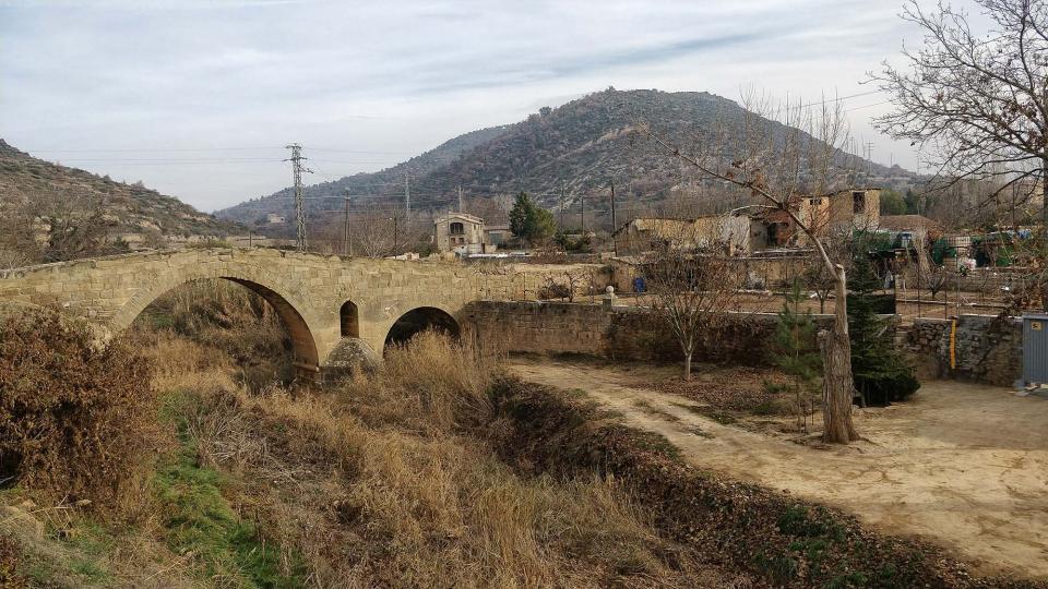 07.12.2017 pont de les Merites  Torà -  Ramon Sunyer