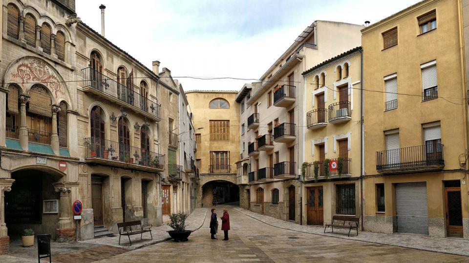 Plaça del Pati Foto: Ramon Sunyer - Torà