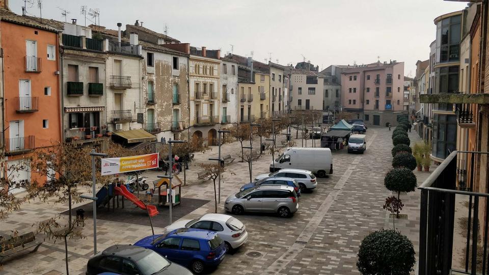 08.12.2017 Plaça del Vall  Torà -  Ramon Sunyer