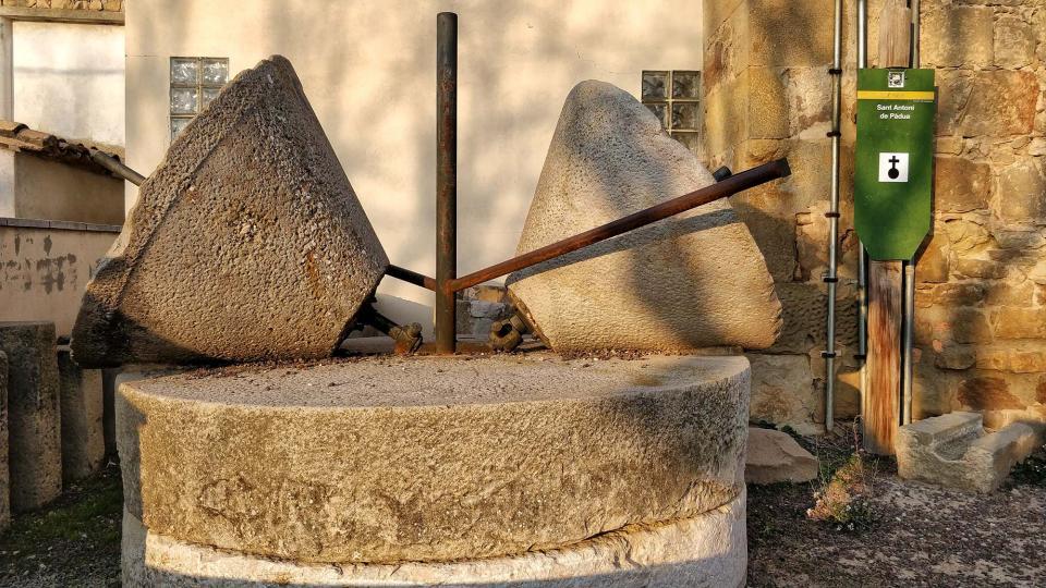 08.12.2017 Pedres de molí  Torà -  Ramon Sunyer
