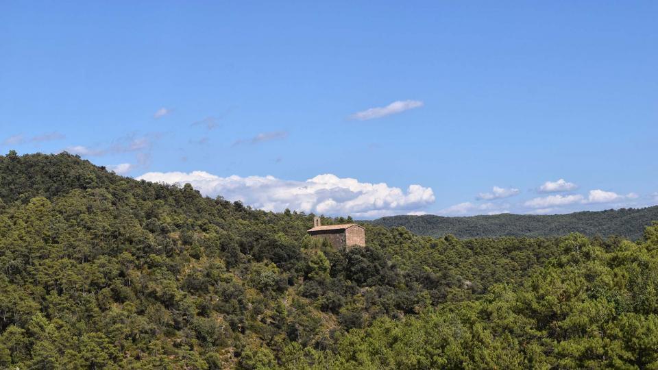 10.08.2017 Ermita de Santa Perpètua  Vilanova de l'Aguda -  Ramon Sunyer