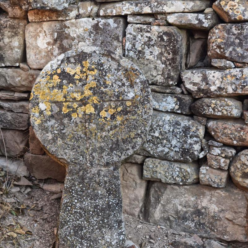 06.12.2017 Estela a Ermita de Santa Maria de les Omedes  Vilanova de l'Aguda -  Ramon Sunyer