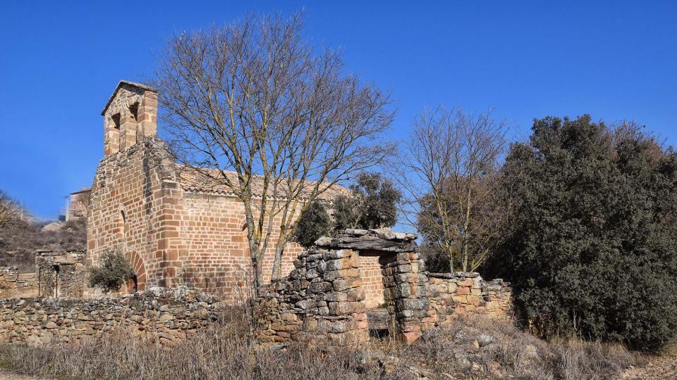Ermita de  Santa Maria de les Omedes - Autor Ramon Sunyer (2017)