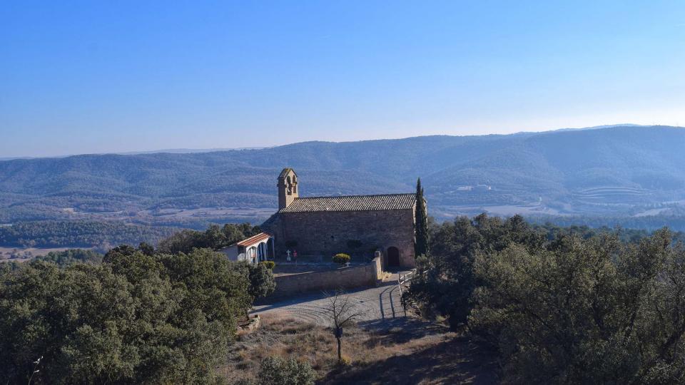 Església de  Sant Miquel de Valldàries - Autor Ramon Sunyer (2017)
