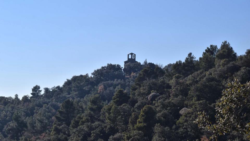 06.12.2017 Església de Sant Miquel de Valldàries  Vilanova de l'Aguda -  Ramon Sunyer