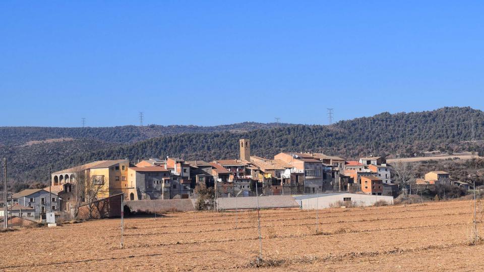 06.12.2017 vista del poble  Vilanova de l'Aguda -  Ramon Sunyer
