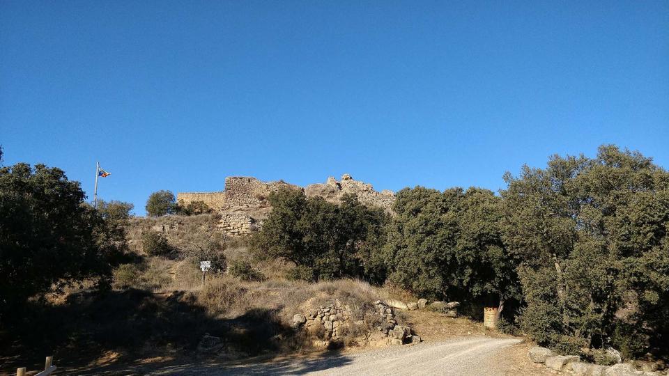 06.12.2017 Castell de Valldàries  Vilanova de l'Aguda -  Ramon Sunyer
