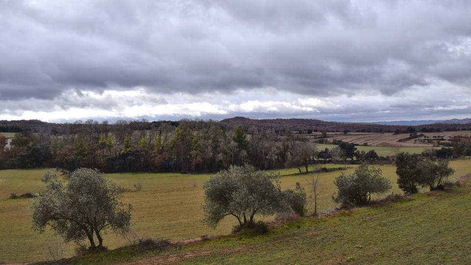 27.12.2017 paisatge  Sant Serni -  Ramon Sunyer