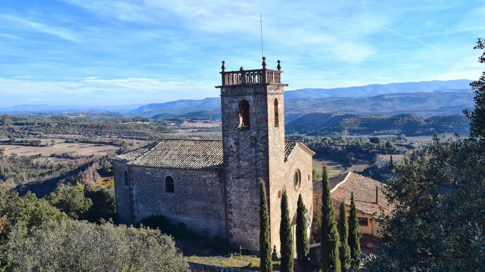 28.12.2017 Church Sant Pere  237 - Author Ramon Sunyer