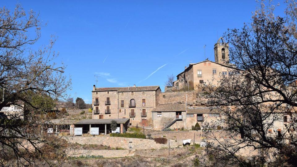 28.12.2017 poble  Vallmanya -  Ramon Sunyer