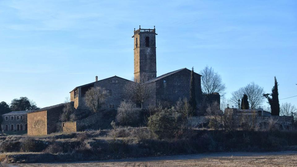 28.12.2017 vista  Sant Just d'Ardèvol -  Ramon Sunyer