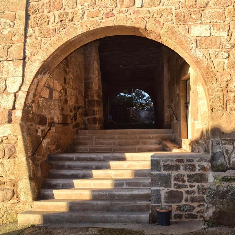 28.12.2017 portal  Sant Just d'Ardèvol -  Ramon Sunyer