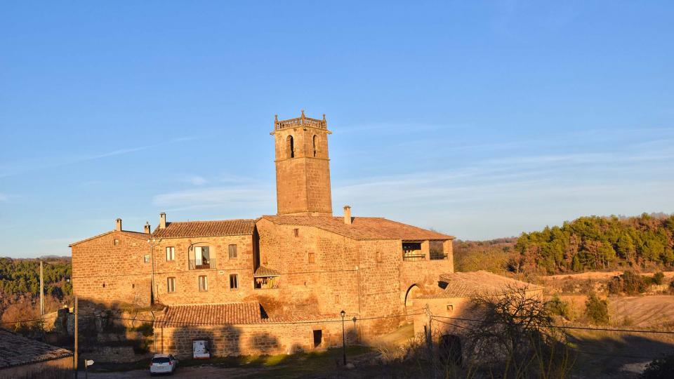 28.12.2017 poble  Sant Just d'Ardèvol -  Ramon Sunyer