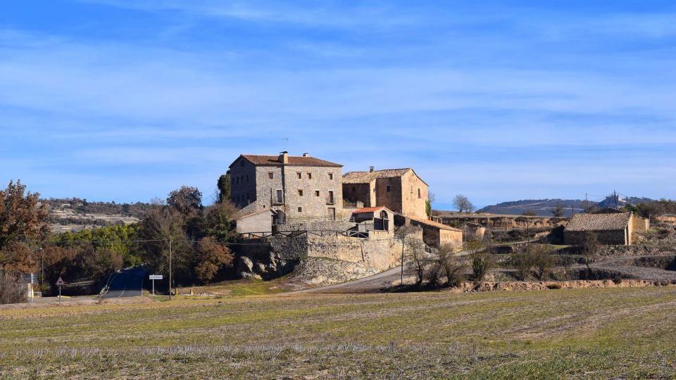 28.12.2012 vista  Els Quadrells -  Ramon Sunyer