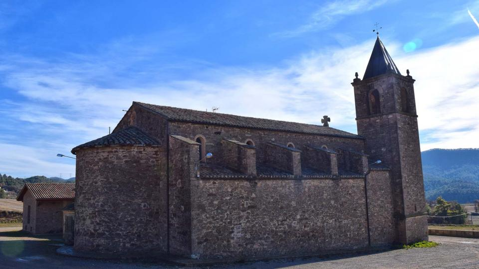 28.12.2012 Església de Santa Maria Nova  La Molsosa -  Ramon Sunyer