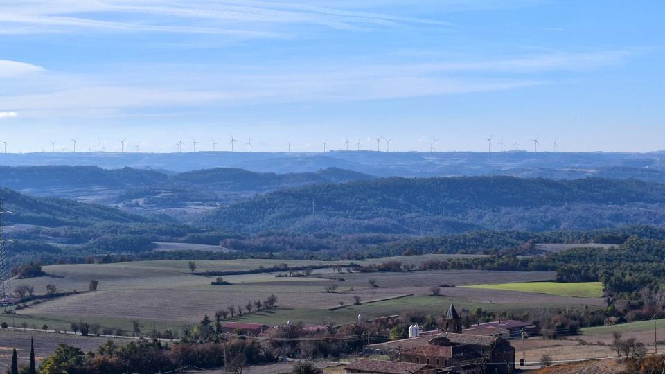 28.12.2012 paisatge  La Molsosa -  Ramon Sunyer