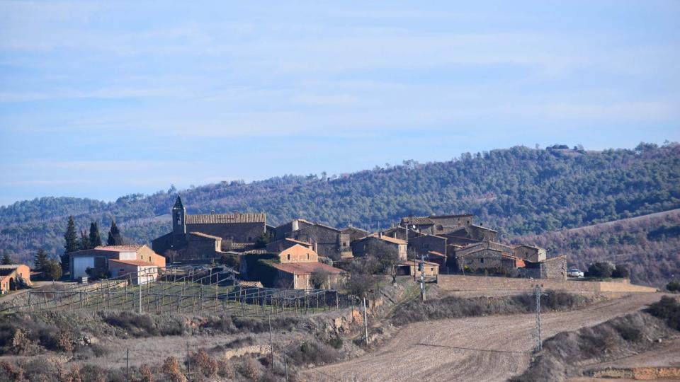 28.12.2012 poble  Prades de la Molsosa -  Ramon Sunyer