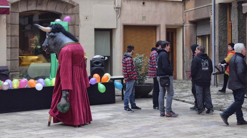 02.02.2018 Preparatius de la rua infantil  Torà -  Ramon Sunyer