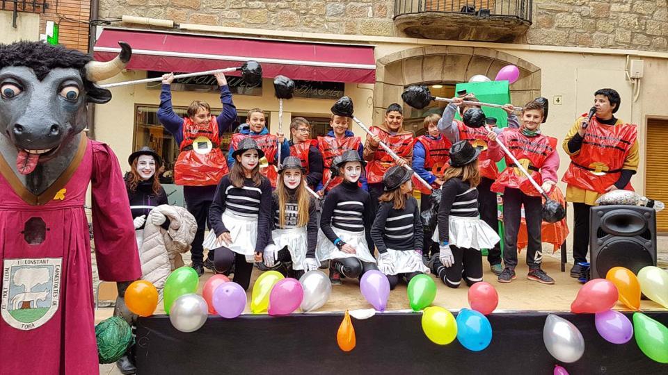 02.02.2018 Rua Infantil del CEIP Sant Gil i de la Llar d'Infants El Jardí  Torà -  Jan_Closa