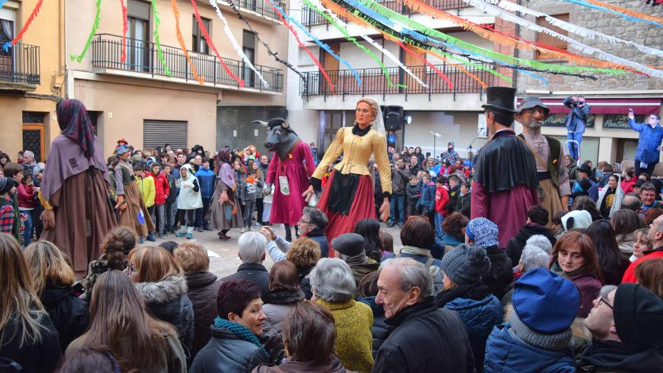 03.02.2018 Ball de gegants  Torà -  Ramon Sunyer