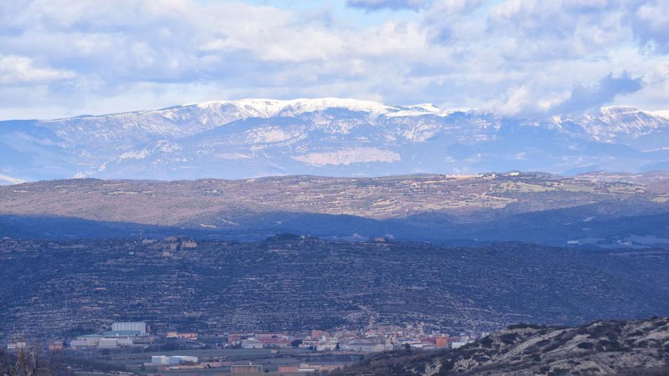 Vista de Torà Foto: Ramon Sunyer - Torà