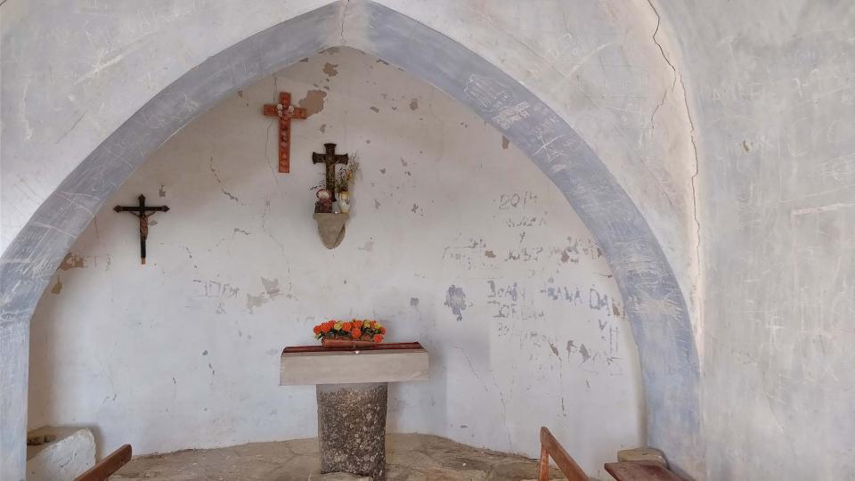25.02.2018 Capella de Sant Pere de Murinyols  Torà -  Ramon Sunyer