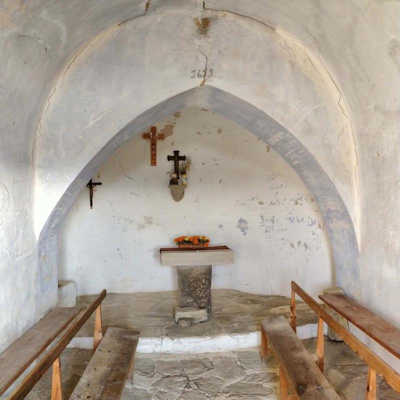 Capella de Sant Pere de Murinyols - Autor Ramon Sunyer (2018)