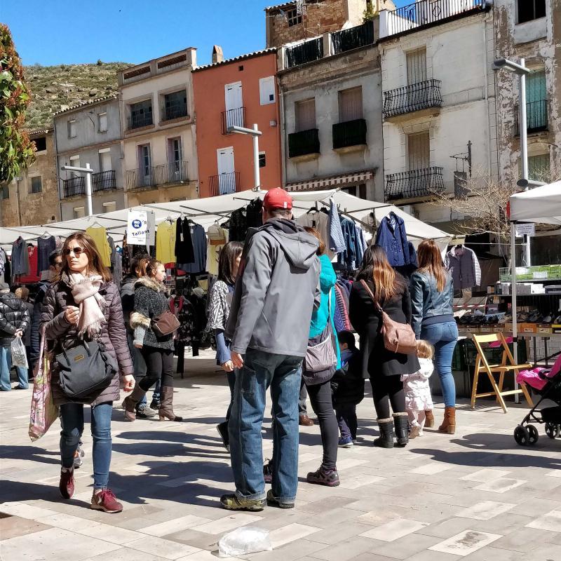 30.03.2018 Plaça del Vall  Torà -  Ramon Sunyer