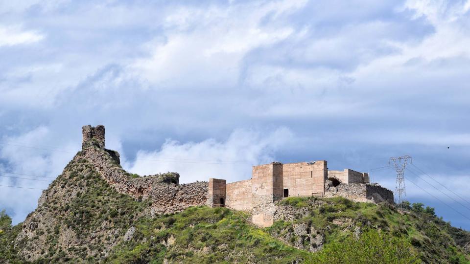29.04.2018 Castell de Sant Esteva  Castellfollit de Riubregós -  Ramon Sunyer