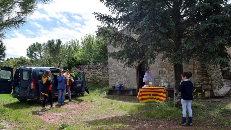 29.04.2018 Avituallament a l'Ermita de Marçà  Castellfollit de Riubregós -  Ramon Sunyer