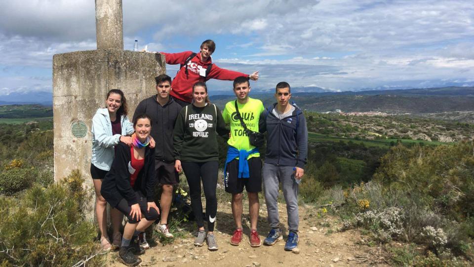 29.04.2018 punt geodèsic  Castellfollit de Riubregós -  Xavi