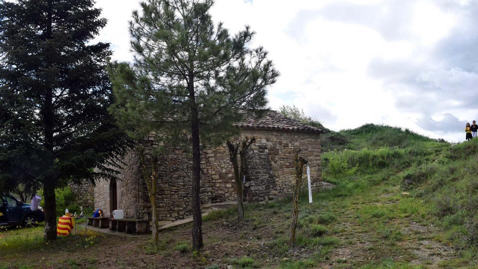 29.04.2018 Capella dels Sants Metges o de Marçà  Castellfollit de Riubregós -  Ramon Sunyer