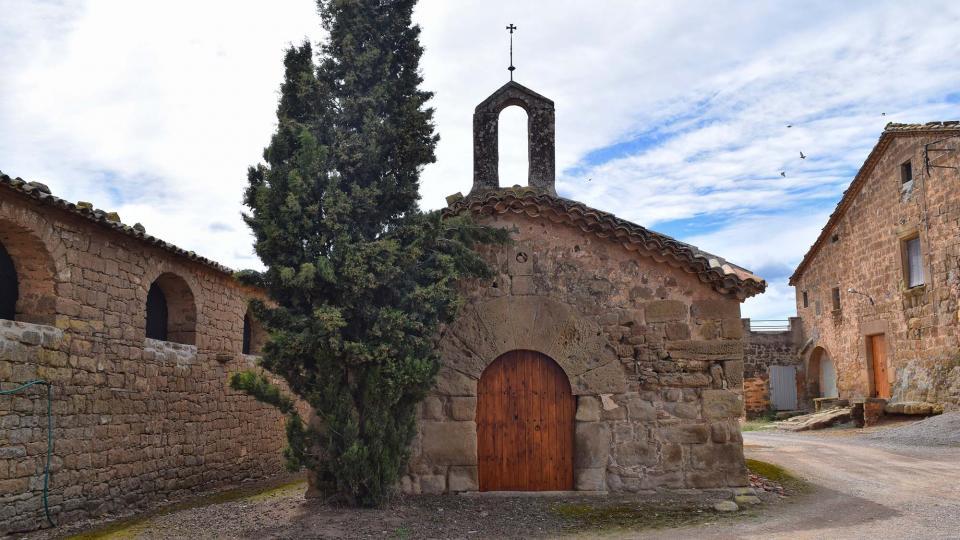 Capella de  Sant Joan de Mas d'en Trilla - Autor Ramon Sunyer (2018)