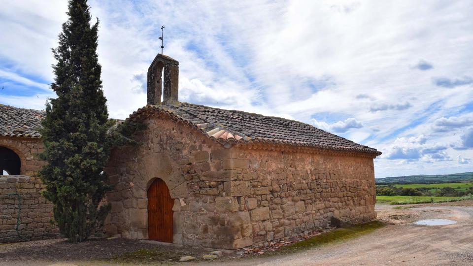 30.04.2018 Capella de Sant Joan de Mas d'En Trilla  Renant -  Ramon Sunyer