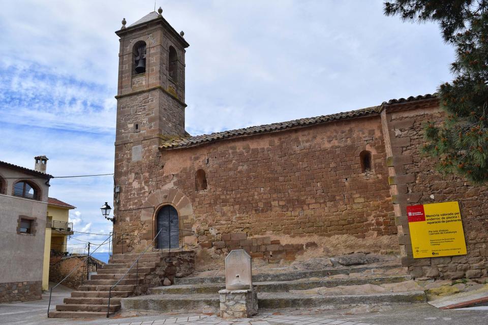 30.04.2018 Església de Santa Maria   Coscó -  Ramon Sunyer