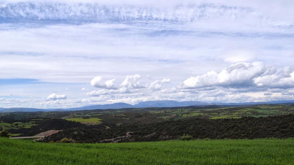 30.04.2018 vista del Montsec  Coscó -  Ramon Sunyer