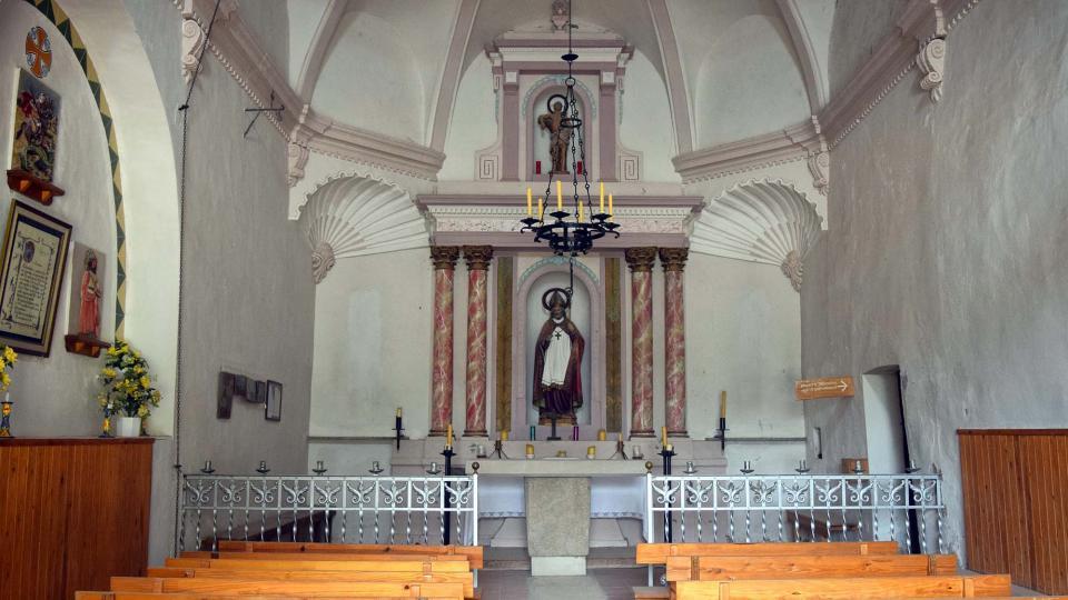Ermita de  Sant Pol - Autor Ramon Sunyer (2018)