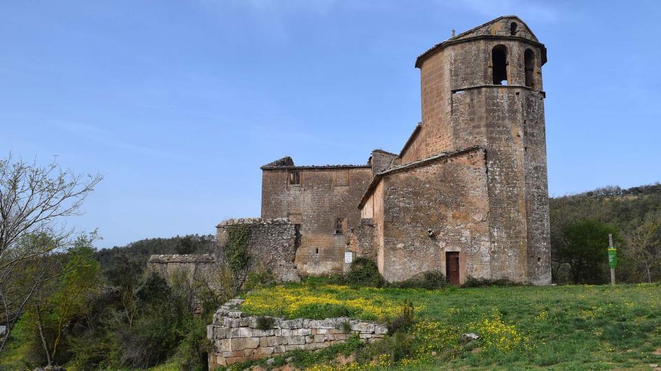 L'Ajuntament de Torà arranjarà la teulada de Sant Martí de Llanera