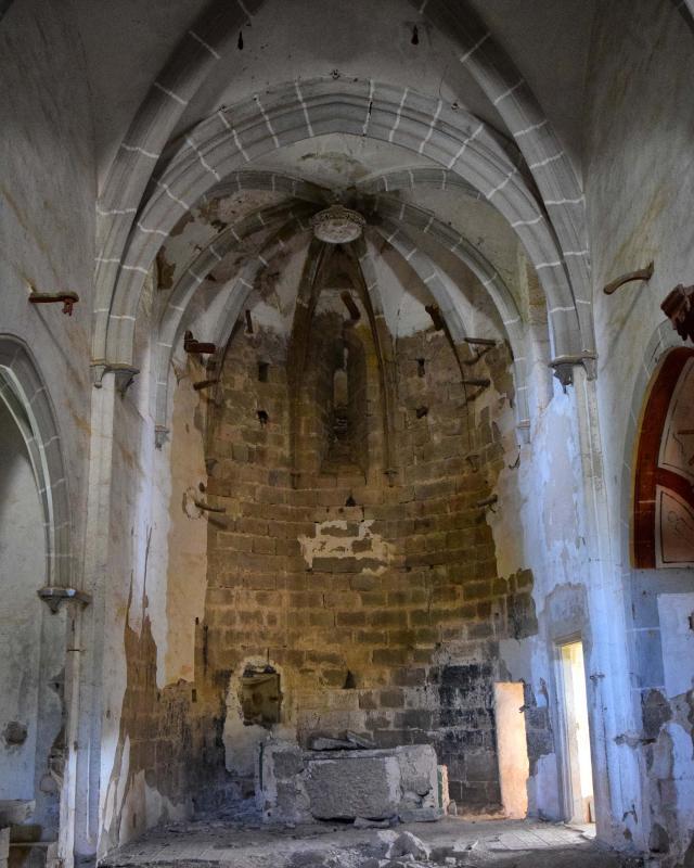 22.04.2018 Interior de l'Església de sant Martí  Llanera -  Ramon Sunyer