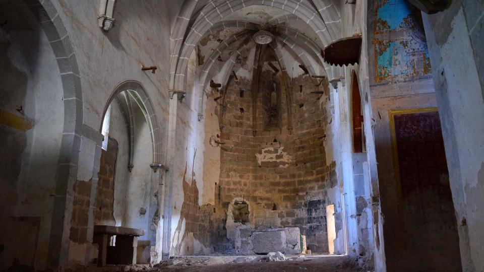 Interior de l'església - Llanera