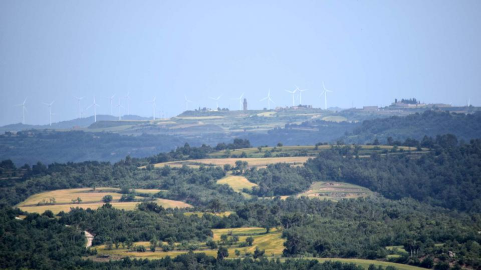 10.06.2018 vista de Calaf  L'Aguda -  Ramon Sunyer