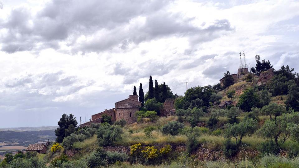 10.06.2018 vista del poble  L'Aguda -  Ramon Sunyer