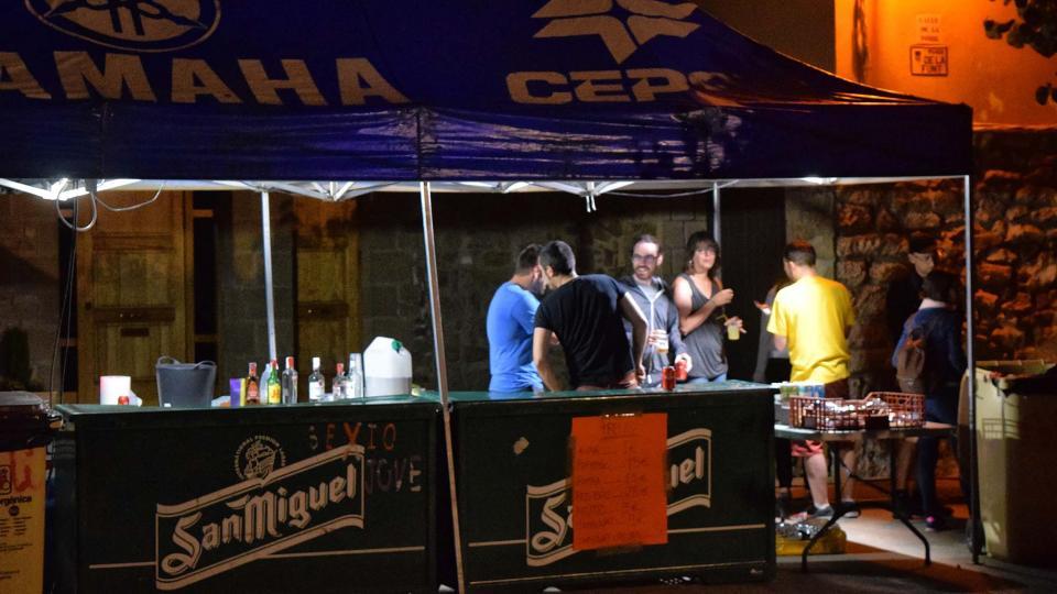 25.06.2018 Revetlla a la plaça de la Font  Torà -  Ramon Sunyer