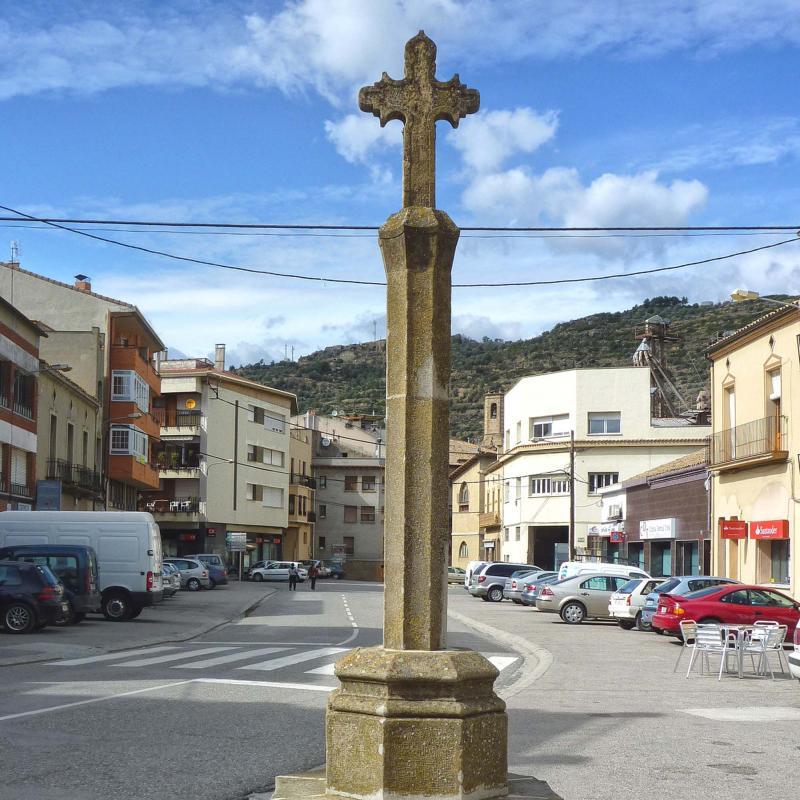 11.04.2012 Creu de sant Ramon  Torà -  Isidre Blanc