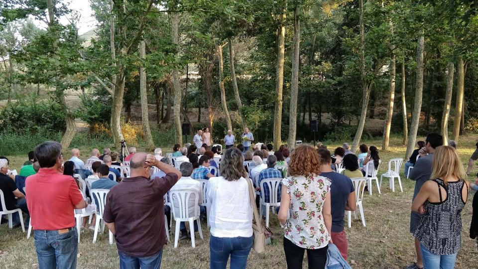 07.07.2018 Uns 120 assistents  Sanaüja -  Ramon Sunyer