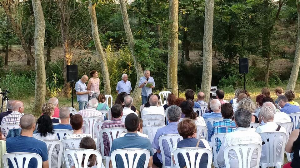 07.07.2018 parlaments de benvinguda  Sanaüja -  Ramon Sunyer