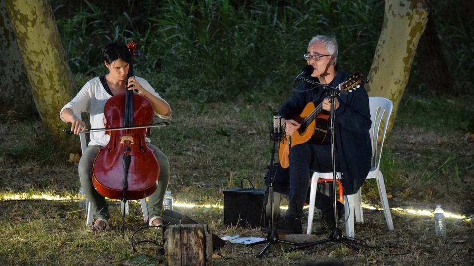07.07.2018 Actuació de Ramon Porta  Sanaüja -  Ramon Sunyer