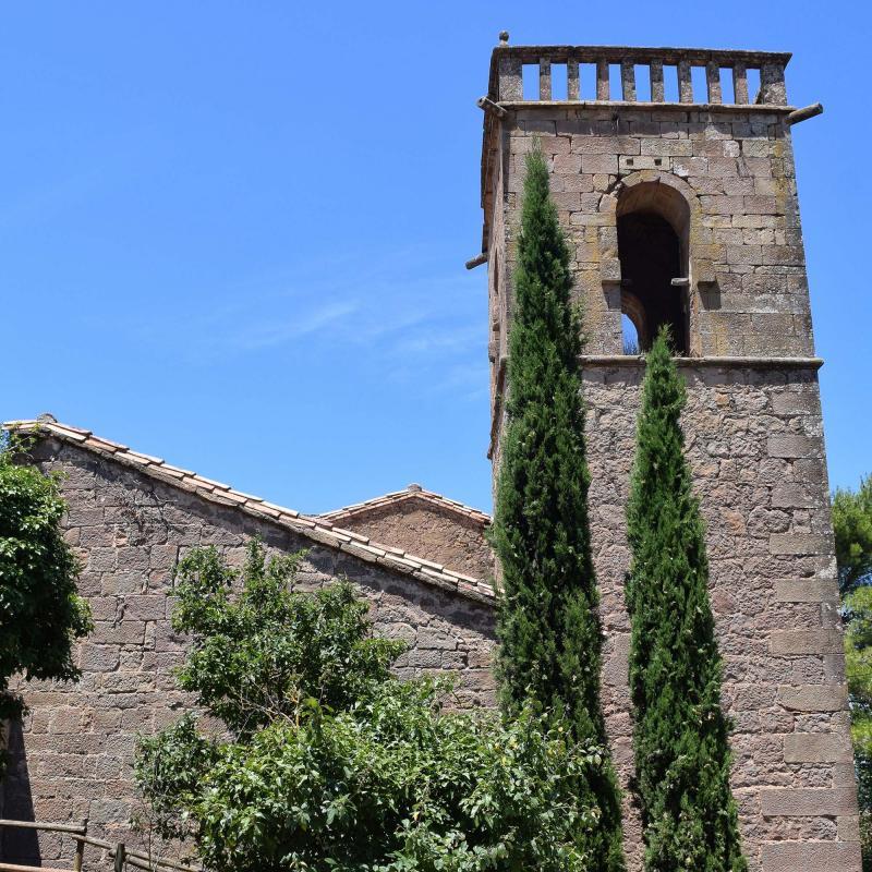 08.07.2018 Església de Santa Maria  Ardèvol -  Ramon Sunyer