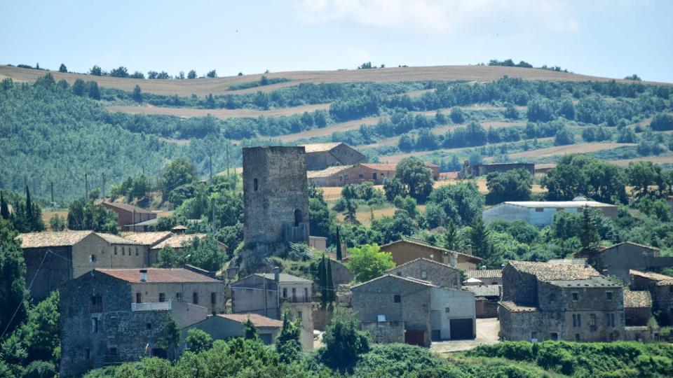08.07.2018 Vista del poble  Ardèvol -  Ramon Sunyer